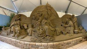 Mercatini di Natale Jesolo - presepi di sabbia @ Jesolo